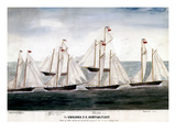 Alaska: Hunting Fleet, 1896 Giclee Print by Willie Peterson
