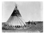 Kainai Tepee, c1927 Prints by Edward S. Curtis