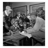 Tuskegee Airmen, 1945 Giclee Print by Toni Frissell