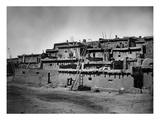New Mexico: Zuni Pueblo Premium Giclee Print by Timothy O'Sullivan