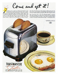 Toaster Ad, 1938 Reproduction giclée Premium