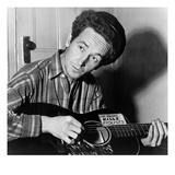 Woody Guthrie (1912-1967) Reproduction procédé giclée par Al Aumuller