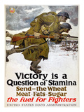 World War I: Poster, 1917 Premium Giclee Print by Harvey Dunn