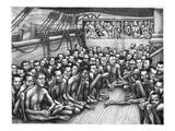 Slavery: Slave Ship Giclee Print by Bernarda Bryson Shahn