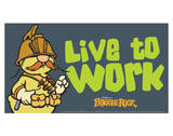 Fraggle Rock-Live To Work Prints by Jim Henson