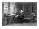 Charles Dickens (1812-1870) Premium Giclee Print by Samuel Hollyer