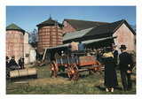 Farm Auction, 1940 Giclee Print by Jack Delano