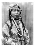 Wishram Bride, c1910 Prints by Edward S. Curtis