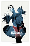 Labyrinth-The Worm Affiches par Jim Henson
