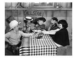 Silent Film: Little Rascals Giclee Print