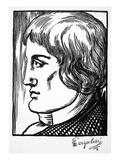 Giovanni Battista Pergolesi Prints by Samuel Nisenson