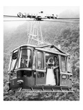 Wedding: Cable Car, 1970 Giclee Print