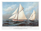America's Cup, 1883 Premium Giclee Print by  Currier & Ives