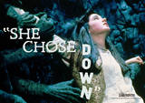 Labyrinth-She Chose Down Póster por Jim Henson