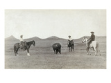 South Dakota: Cowboys Giclee Print by John C.H. Grabill