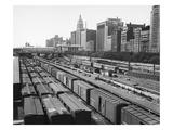 Chicago: Railyard, c1960s Giclee Print