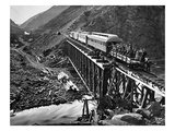 California: Railroad, 1869 Giclee Print by Joseph Russell