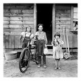 Farm Children, 1939 Posters by Dorothea Lange
