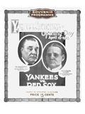 Baseball Program, 1923 Posters