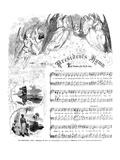 President's Hymn, 1863 Prints