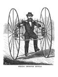 Bicycling, 1869 Lámina giclée