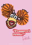 Fraggle Rock-Fraggrrrl Power! Poster by Jim Henson