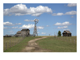 South Dakota: Windmill Poster by Carol Highsmith