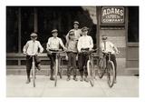 Postal Messengers, 1911 Prints by Lewis Hine