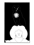 Poe: The Black Cat, 1894 Posters by Aubrey Beardsley