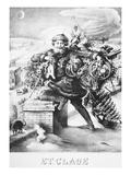 Santa Claus Giclee Print by S. Merinsky