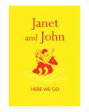 Janet And John Here We Go Art