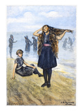 Women's Fashion, 1886 Giclee Print by C.S. Reinhart