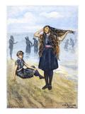 Women's Fashion, 1886 Giclee Print by C.S. Reinhart