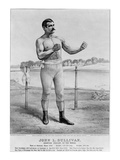 John L Sullivan (1858-1918) Art by  Currier & Ives