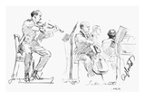 Chamber Musicians, c1935 Giclee Print by Hilda Wiener