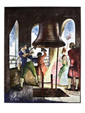 Liberty Bell, 1776 Giclee Print by Newell Convers Wyeth