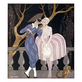 Barbier: Artful Servant Prints by Georges Barbier