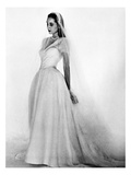 Bridal Gown, 1947 Giclee Print by Louise Dahl-Wolfe