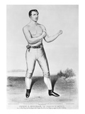 American Boxer, 1860 Giclee Print by  Currier & Ives