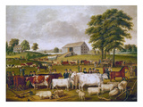 Country Fair, 1824 Premium Giclee Print by John Archibald Woodside
