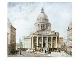 Paris: Pantheon, 1835 Giclee Print by Francois Etienne Villeret