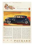 Ads: Packard, 1932 Poster