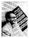 Dave Brubeck (1920-) Giclée-Druck von Carl Van Vechten