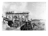 Greece: Parthenon, 1765 Giclee Print by William Pars