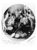 Jazz Band, 1914 Giclee Print by R.E. Mercer