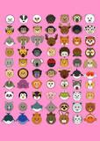 70 Animaru On Pin Prints