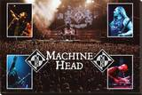 Machine Head Stretched Canvas Print