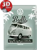 VW Retro Bully Tin Sign
