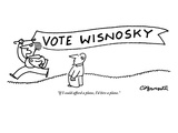 """""""If I could afford a plane, I'd hire a plane."""" - New Yorker Cartoon Premium Giclee Print by Charles Barsotti"""