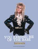 Labyrinth-Babe Plakater af Jim Henson